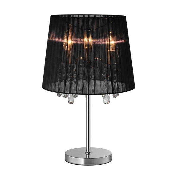 Veioza eleganta CESARE negru RLT94350-3B ZL, Veioze, Lampi de masa, Corpuri de iluminat, lustre, aplice, veioze, lampadare, plafoniere. Mobilier si decoratiuni, oglinzi, scaune, fotolii. Oferte speciale iluminat interior si exterior. Livram in toata tara.  a