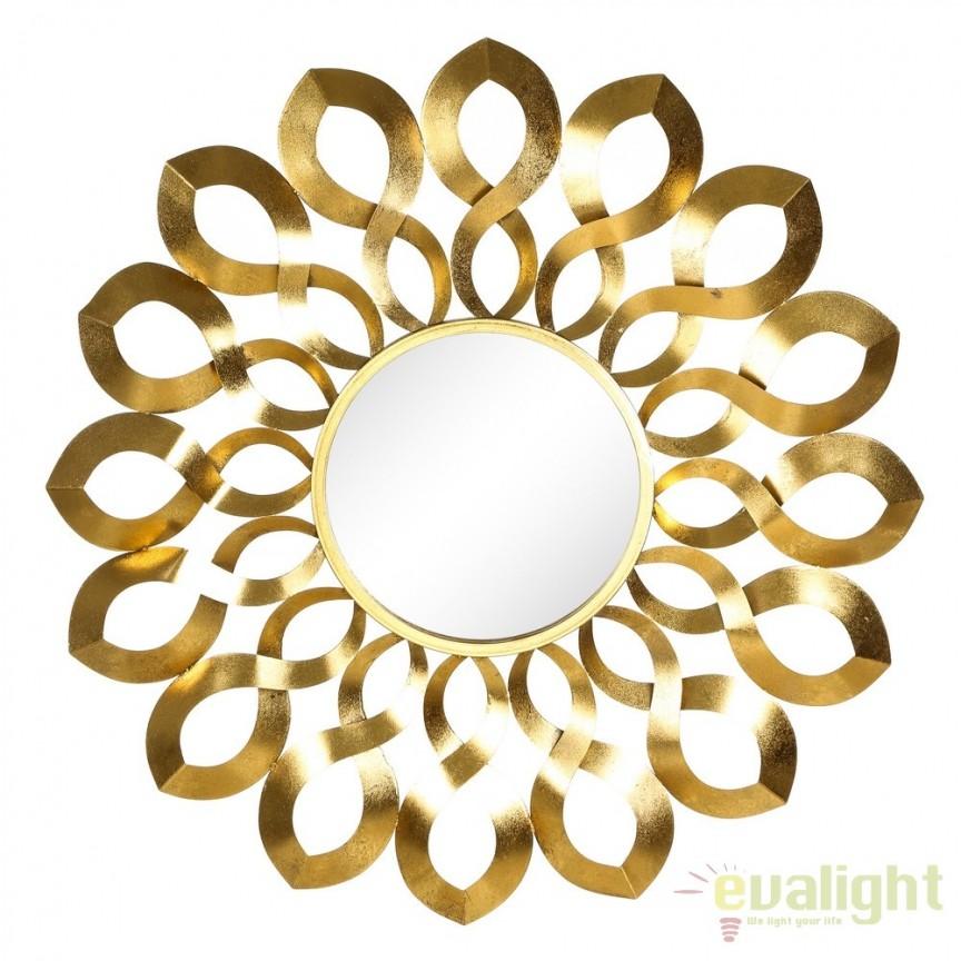 Oglinda decorativa Oro, 92cm SX-103471, Magazin, Corpuri de iluminat, lustre, aplice, veioze, lampadare, plafoniere. Mobilier si decoratiuni, oglinzi, scaune, fotolii. Oferte speciale iluminat interior si exterior. Livram in toata tara.  a