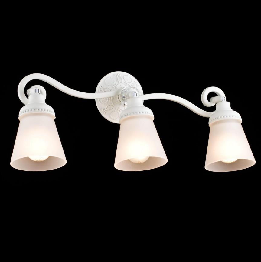 Aplica cu 3 spoturi design clasic Mia MYSP564-CW-03-W, Spoturi - iluminat - cu 3 spoturi, Corpuri de iluminat, lustre, aplice, veioze, lampadare, plafoniere. Mobilier si decoratiuni, oglinzi, scaune, fotolii. Oferte speciale iluminat interior si exterior. Livram in toata tara.  a