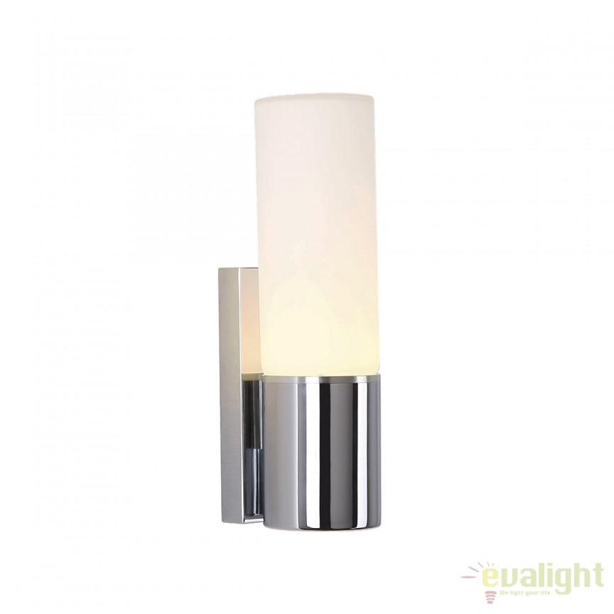 Aplica LED perete / oglinda baie stil modern IP44 CANDY W0222 MX, Aplice pentru baie, oglinda, tablou, Corpuri de iluminat, lustre, aplice, veioze, lampadare, plafoniere. Mobilier si decoratiuni, oglinzi, scaune, fotolii. Oferte speciale iluminat interior si exterior. Livram in toata tara.  a