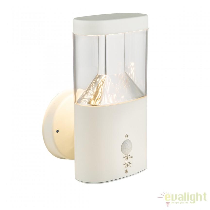 Aplica LED de exterior cu senzor de miscare ACCOR 34203S GL, Iluminat cu senzor de miscare, Corpuri de iluminat, lustre, aplice, veioze, lampadare, plafoniere. Mobilier si decoratiuni, oglinzi, scaune, fotolii. Oferte speciale iluminat interior si exterior. Livram in toata tara.  a