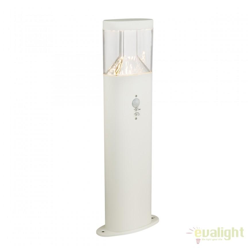 Stalp LED de exterior cu senzor de miscare ACCOR H50cm 34204S GL, Iluminat cu senzor de miscare, Corpuri de iluminat, lustre, aplice, veioze, lampadare, plafoniere. Mobilier si decoratiuni, oglinzi, scaune, fotolii. Oferte speciale iluminat interior si exterior. Livram in toata tara.  a
