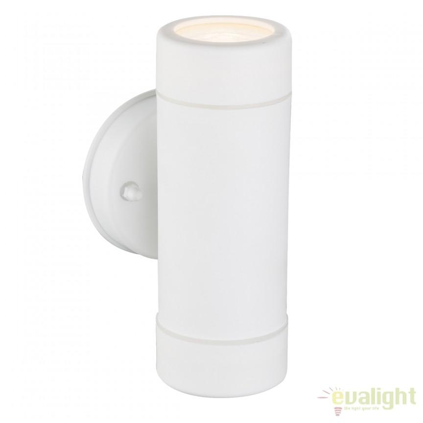 Aplica perete de exterior moderna COTOPA alba 32004-2 GL, Aplice de exterior moderne⭐ lampi de perete pentru iluminat exterior terasa casa si gradina.✅Design cu LED decorativ 2021!❤️Promotii online❗ Magazin➽www.evalight.ro. Alege oferte la corpuri de iluminat exterior rezistente la apa tip spoturi aplicate pt perete sau tavan, metalice, abajur din sticla cu decor ornamental, bec LED si lumina ambientala, ieftine si de lux, calitate deosebita la cel mai bun pret. a