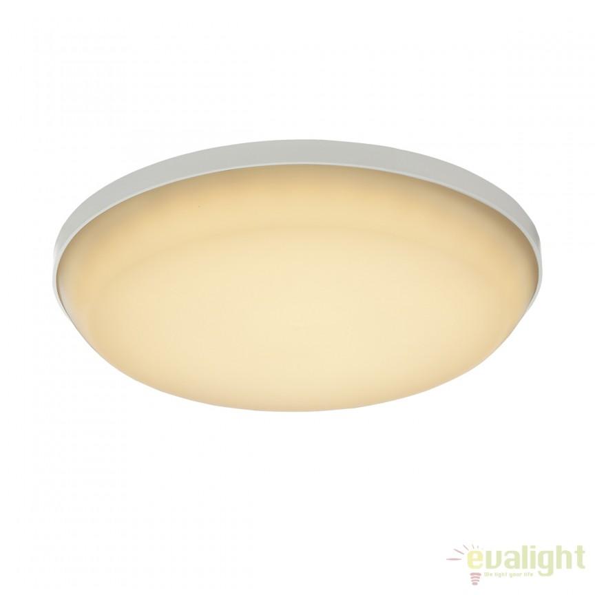 Plafoniera LED exterior IP54 CAIO II 32105-12 GL, Plafoniere de exterior, Corpuri de iluminat, lustre, aplice, veioze, lampadare, plafoniere. Mobilier si decoratiuni, oglinzi, scaune, fotolii. Oferte speciale iluminat interior si exterior. Livram in toata tara.  a