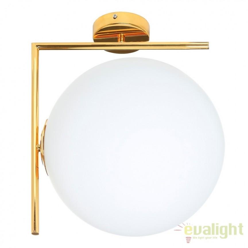 Aplica moderna, perete sau tavan Oro, 30cm DZ-104038, Lustre moderne aplicate, Corpuri de iluminat, lustre, aplice, veioze, lampadare, plafoniere. Mobilier si decoratiuni, oglinzi, scaune, fotolii. Oferte speciale iluminat interior si exterior. Livram in toata tara.  a