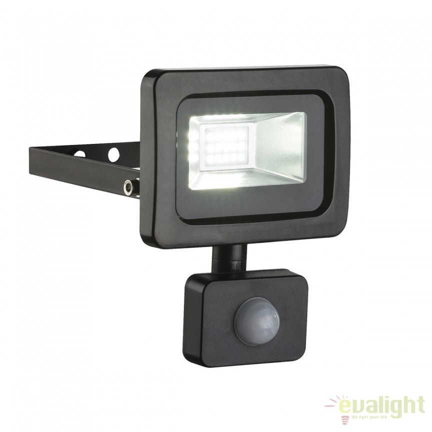 Proiector LED cu senzor de miscare IP44 CALLAQUI I negru 34003S GL, Proiectoare de iluminat exterior , Corpuri de iluminat, lustre, aplice, veioze, lampadare, plafoniere. Mobilier si decoratiuni, oglinzi, scaune, fotolii. Oferte speciale iluminat interior si exterior. Livram in toata tara.  a