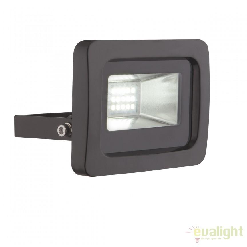 Proiector LED cu protectie IP65 CALLAQUI II negru 34003 GL, Proiectoare de iluminat exterior , Corpuri de iluminat, lustre, aplice, veioze, lampadare, plafoniere. Mobilier si decoratiuni, oglinzi, scaune, fotolii. Oferte speciale iluminat interior si exterior. Livram in toata tara.  a