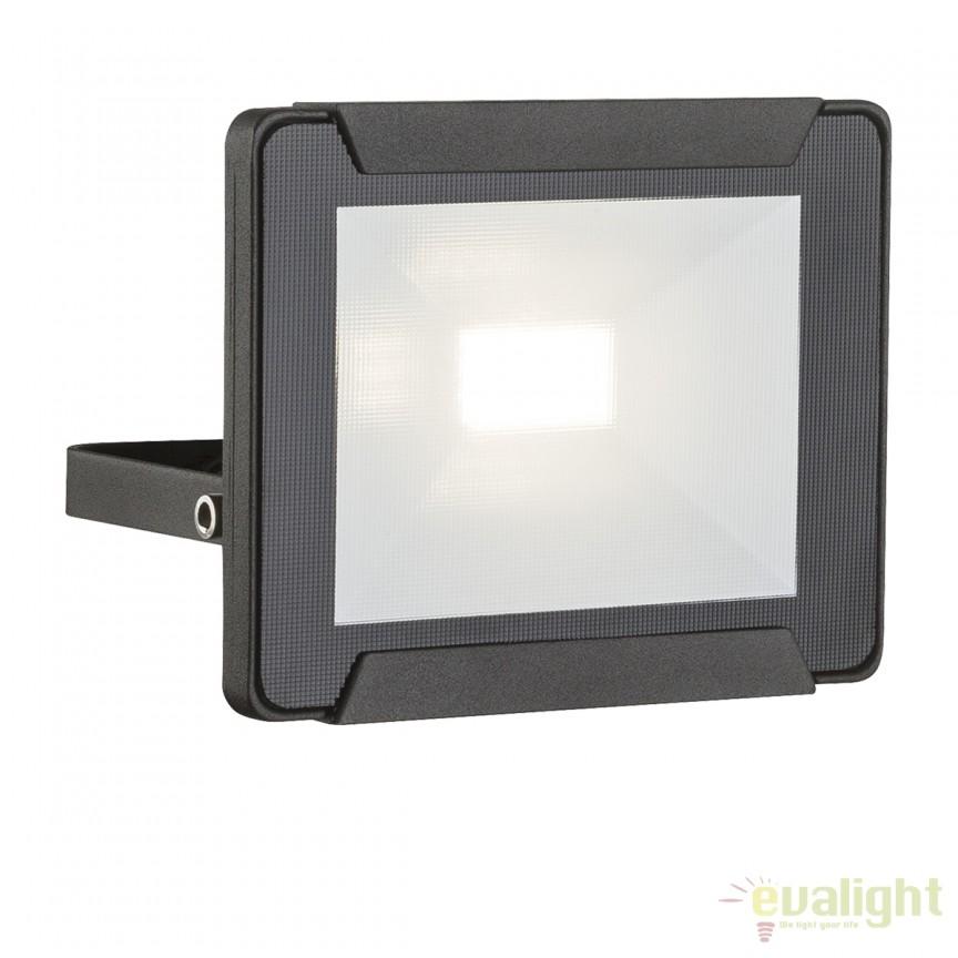 Proiector LED cu protectie IP65 URMIA I 34009 GL, Proiectoare de iluminat exterior , Corpuri de iluminat, lustre, aplice, veioze, lampadare, plafoniere. Mobilier si decoratiuni, oglinzi, scaune, fotolii. Oferte speciale iluminat interior si exterior. Livram in toata tara.  a