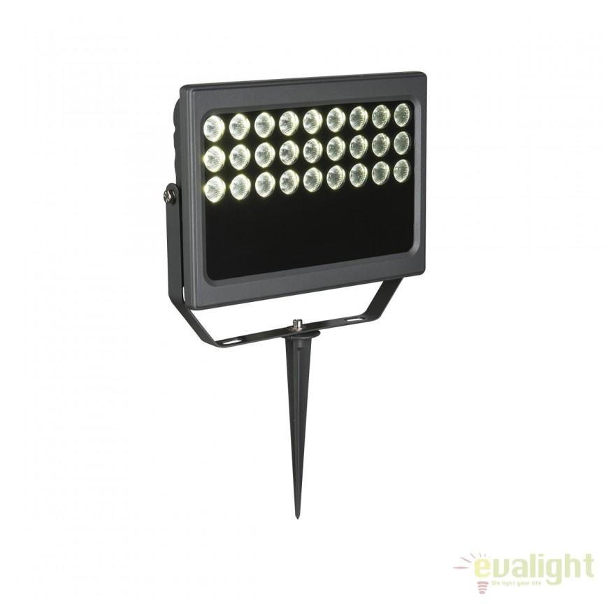 Proiector LED cu tarus protectie IP65 ACATENA 34109 GL, Proiectoare de exterior cu tarus, Corpuri de iluminat, lustre, aplice, veioze, lampadare, plafoniere. Mobilier si decoratiuni, oglinzi, scaune, fotolii. Oferte speciale iluminat interior si exterior. Livram in toata tara.  a