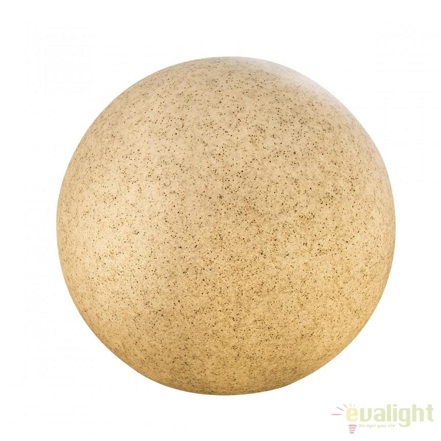 Lampa decorativa de exterior TOULA III 31781 GL, Iluminat design decorativ , Corpuri de iluminat, lustre, aplice, veioze, lampadare, plafoniere. Mobilier si decoratiuni, oglinzi, scaune, fotolii. Oferte speciale iluminat interior si exterior. Livram in toata tara.  a