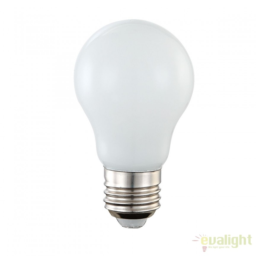 Bec LED E27 opal 4W 4000K 10750C GL, Becuri E27, Corpuri de iluminat, lustre, aplice, veioze, lampadare, plafoniere. Mobilier si decoratiuni, oglinzi, scaune, fotolii. Oferte speciale iluminat interior si exterior. Livram in toata tara.  a