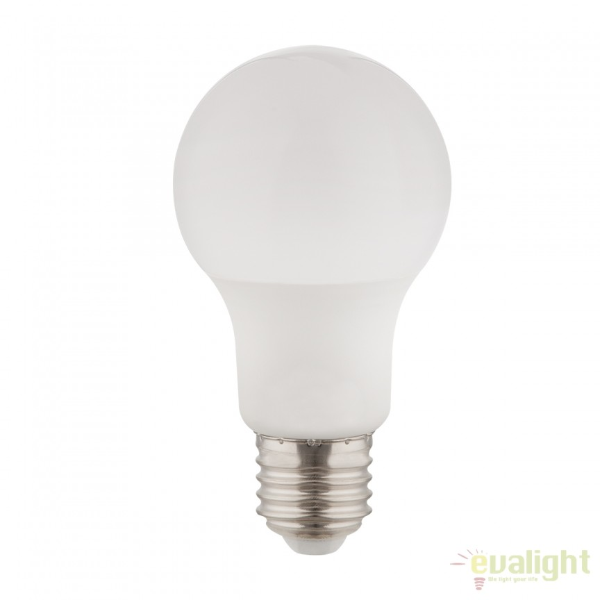 Bec LED E27 opal 7W 3000K 10670 GL, Becuri E27, Corpuri de iluminat, lustre, aplice, veioze, lampadare, plafoniere. Mobilier si decoratiuni, oglinzi, scaune, fotolii. Oferte speciale iluminat interior si exterior. Livram in toata tara.  a