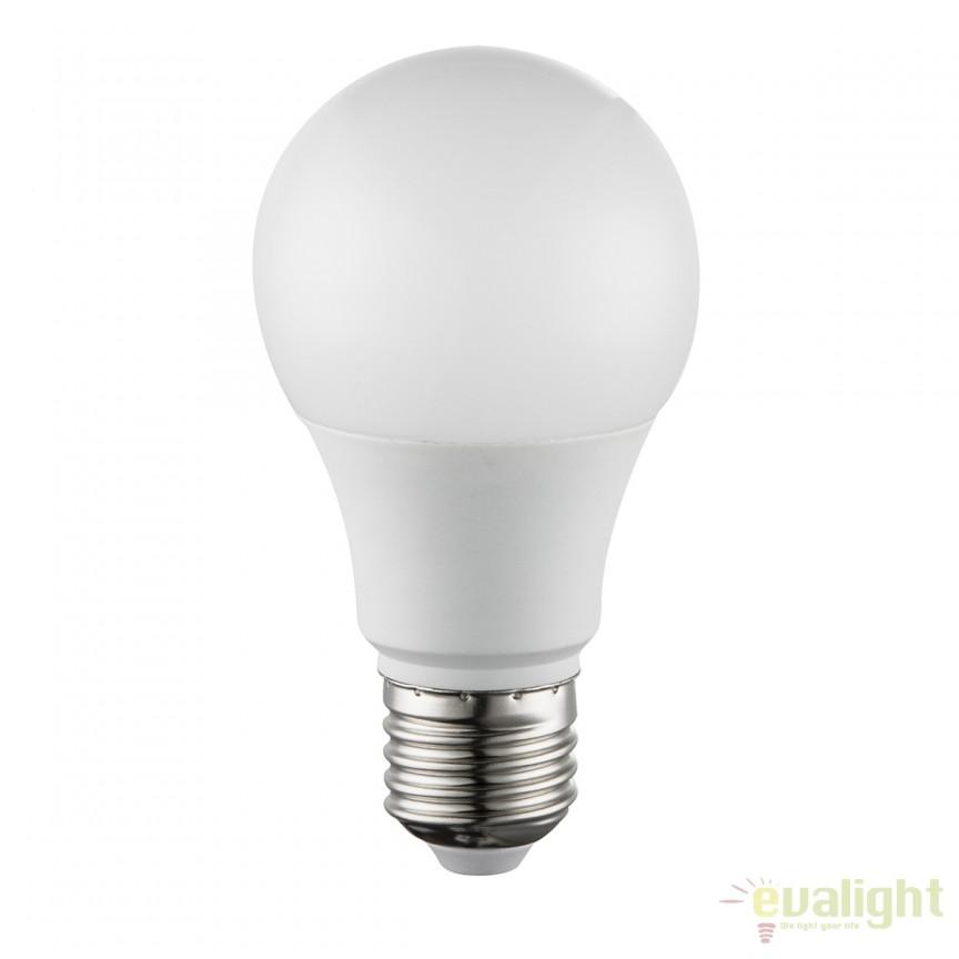 Bec LED E27 opal 7W 4000K 10670C GL, Becuri E27, Corpuri de iluminat, lustre, aplice, veioze, lampadare, plafoniere. Mobilier si decoratiuni, oglinzi, scaune, fotolii. Oferte speciale iluminat interior si exterior. Livram in toata tara.  a
