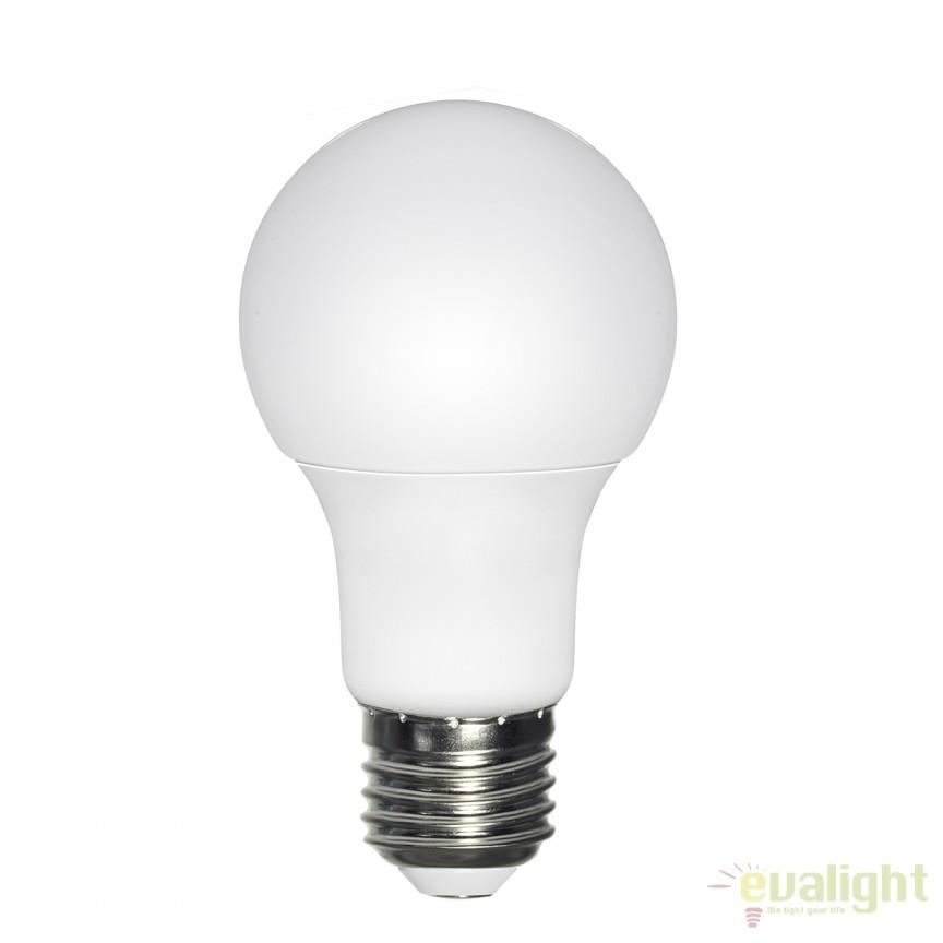 Set de 2 Becuri LED E27 opal 7W 3000K 10670-2K GL, Becuri E27, Corpuri de iluminat, lustre, aplice, veioze, lampadare, plafoniere. Mobilier si decoratiuni, oglinzi, scaune, fotolii. Oferte speciale iluminat interior si exterior. Livram in toata tara.  a