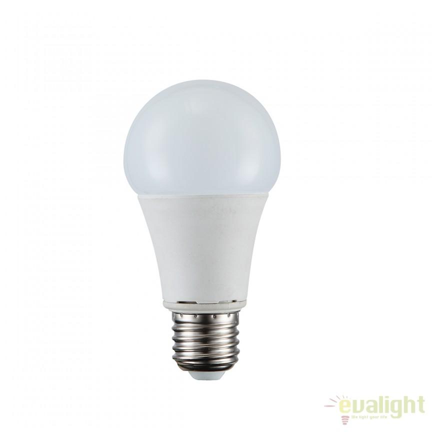 Bec LED E27 opal 9W 3000K 10625 GL, Becuri E27, Corpuri de iluminat, lustre, aplice, veioze, lampadare, plafoniere. Mobilier si decoratiuni, oglinzi, scaune, fotolii. Oferte speciale iluminat interior si exterior. Livram in toata tara.  a