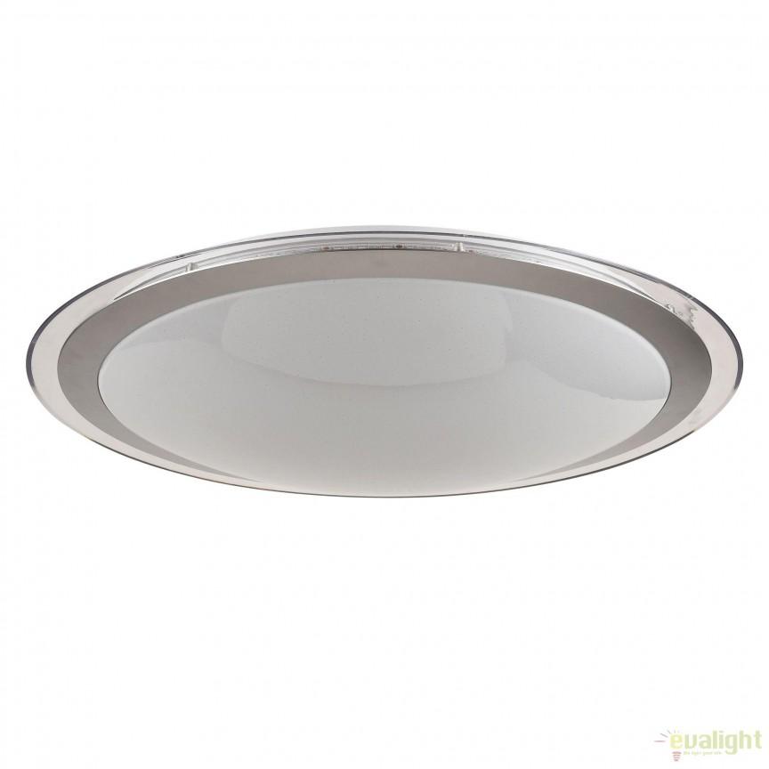 Aplica perete sau tavan, iluminat LED, telecomanda Halo 40cm MYC6998-CL-30-W, Lampi LED si Telecomanda, Corpuri de iluminat, lustre, aplice, veioze, lampadare, plafoniere. Mobilier si decoratiuni, oglinzi, scaune, fotolii. Oferte speciale iluminat interior si exterior. Livram in toata tara.  a