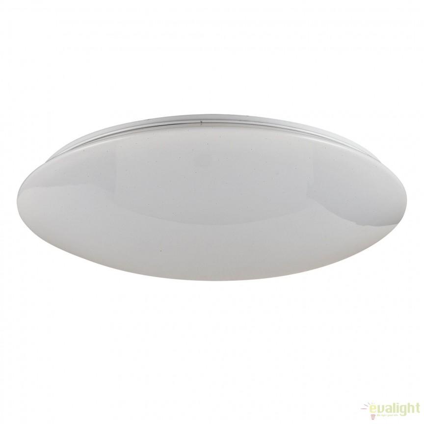 Aplica perete sau tavan, iluminat LED, telecomanda Gloria 34,5cm MYC6999-CL-30-W, Lampi LED si Telecomanda, Corpuri de iluminat, lustre, aplice, veioze, lampadare, plafoniere. Mobilier si decoratiuni, oglinzi, scaune, fotolii. Oferte speciale iluminat interior si exterior. Livram in toata tara.  a