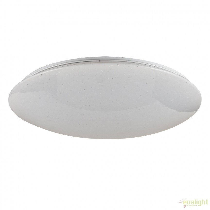 Aplica perete sau tavan, iluminat LED, telecomanda Gloria 49,5cm MYC6999-CL-45-W, Lampi LED si Telecomanda, Corpuri de iluminat, lustre, aplice, veioze, lampadare, plafoniere. Mobilier si decoratiuni, oglinzi, scaune, fotolii. Oferte speciale iluminat interior si exterior. Livram in toata tara.  a