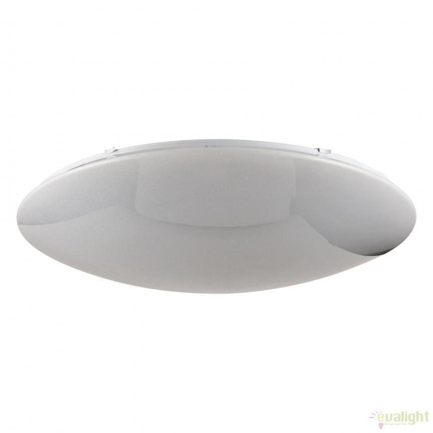 Plafoniera cu iluminat LED si telecomanda Gloria 80cm MYC6999-CL-75-W, Lampi LED si Telecomanda, Corpuri de iluminat, lustre, aplice, veioze, lampadare, plafoniere. Mobilier si decoratiuni, oglinzi, scaune, fotolii. Oferte speciale iluminat interior si exterior. Livram in toata tara.  a