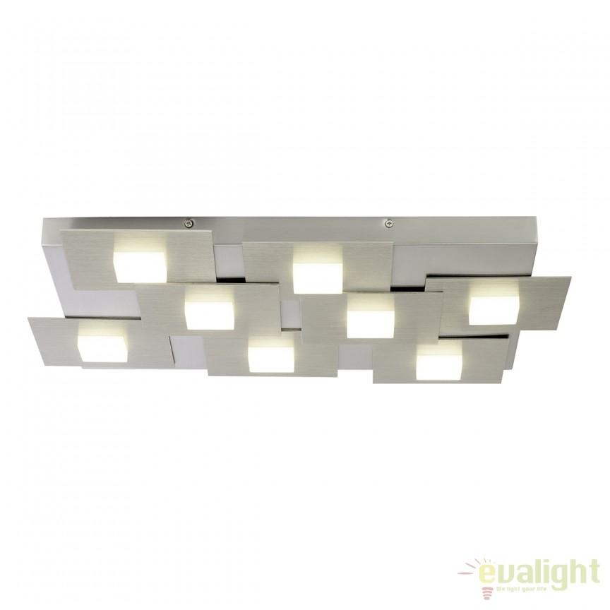 Lustra LED (dimmable) moderna NUMBERS 8 G90237/13 BL, Lustre LED, Pendule LED, Corpuri de iluminat, lustre, aplice, veioze, lampadare, plafoniere. Mobilier si decoratiuni, oglinzi, scaune, fotolii. Oferte speciale iluminat interior si exterior. Livram in toata tara.  a