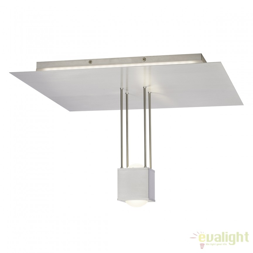 Lustra LED (dimmable) cu telecomanda ultramoderna LENS G90243/13 BL, Lampi LED si Telecomanda, Corpuri de iluminat, lustre, aplice, veioze, lampadare, plafoniere. Mobilier si decoratiuni, oglinzi, scaune, fotolii. Oferte speciale iluminat interior si exterior. Livram in toata tara.  a