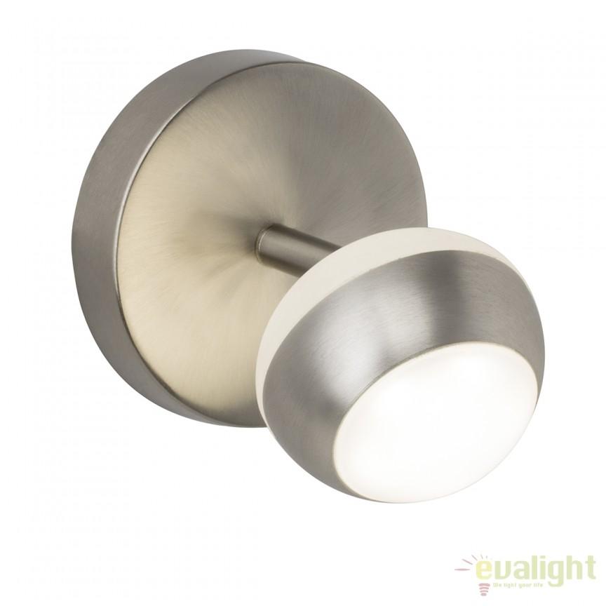 Aplica LED cu spot (dimmable) cu telecomanda REMOTE G61710/13 BL, Lampi LED si Telecomanda, Corpuri de iluminat, lustre, aplice, veioze, lampadare, plafoniere. Mobilier si decoratiuni, oglinzi, scaune, fotolii. Oferte speciale iluminat interior si exterior. Livram in toata tara.  a
