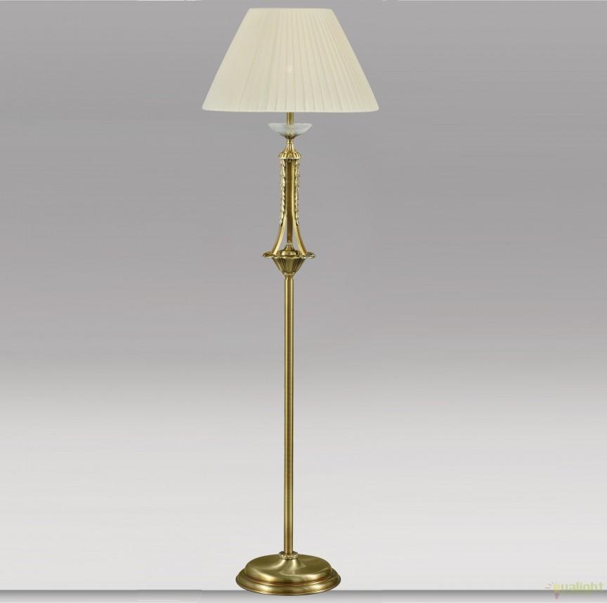 Lampadar design LUX realizat manual Atenea 2783 Grated Antique/alb, Lampadare clasice, Corpuri de iluminat, lustre, aplice, veioze, lampadare, plafoniere. Mobilier si decoratiuni, oglinzi, scaune, fotolii. Oferte speciale iluminat interior si exterior. Livram in toata tara.  a