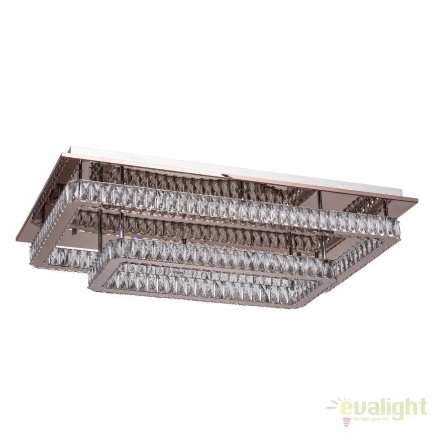 Lustra LED aplicata cu cristal design lux Goslar 498013502 MW, ILUMINAT INTERIOR LED , Corpuri de iluminat, lustre, aplice, veioze, lampadare, plafoniere. Mobilier si decoratiuni, oglinzi, scaune, fotolii. Oferte speciale iluminat interior si exterior. Livram in toata tara.  a