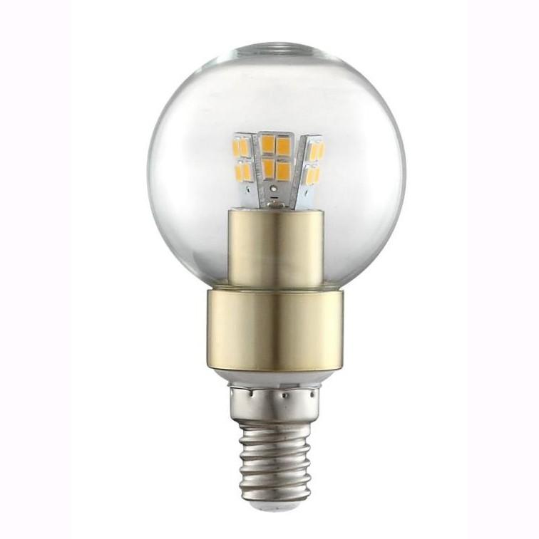 Bec LED E14 ILLU, 4W 3000K 10776 GL, Becuri E14, Corpuri de iluminat, lustre, aplice, veioze, lampadare, plafoniere. Mobilier si decoratiuni, oglinzi, scaune, fotolii. Oferte speciale iluminat interior si exterior. Livram in toata tara.  a