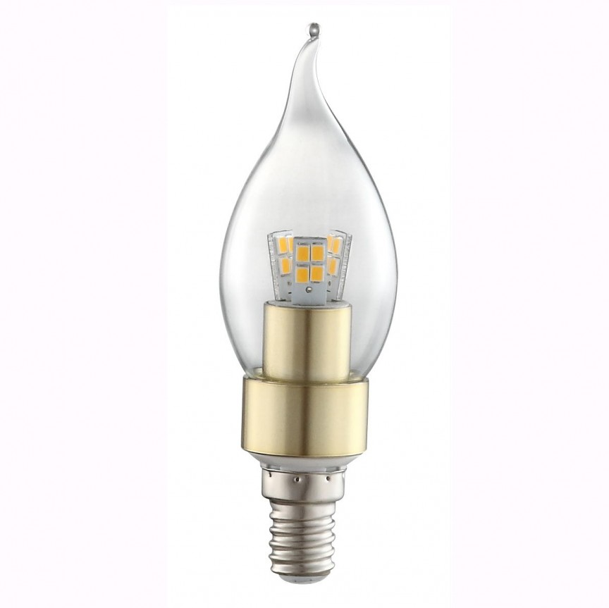 Bec CLASSIC Candle E14 LED 4Watt 3000K 10777 GL, Outlet,  a