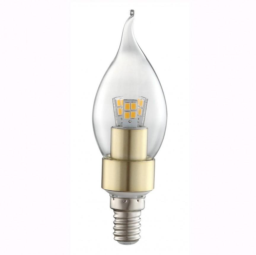 Bec CLASSIC Candle E14 LED 4Watt 3000K 10777 GL, PROMOTII, Corpuri de iluminat, lustre, aplice, veioze, lampadare, plafoniere. Mobilier si decoratiuni, oglinzi, scaune, fotolii. Oferte speciale iluminat interior si exterior. Livram in toata tara.  a