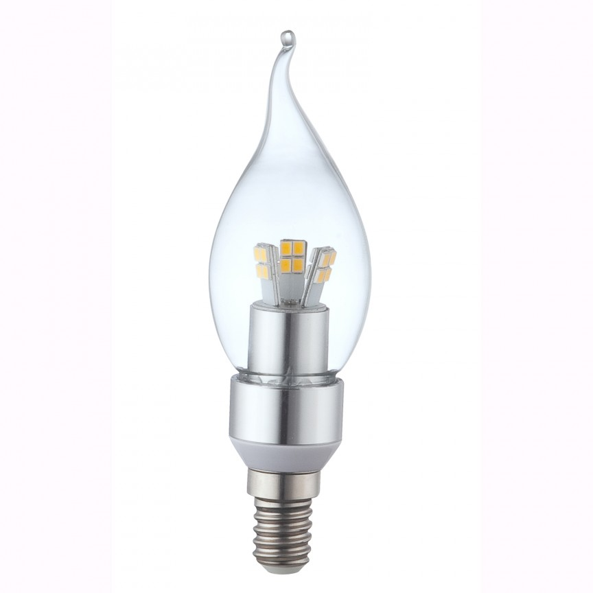 Bec CLASSIC Candle E14 LED 4Watt 3000K 10773 GL, Becuri E14, Corpuri de iluminat, lustre, aplice, veioze, lampadare, plafoniere. Mobilier si decoratiuni, oglinzi, scaune, fotolii. Oferte speciale iluminat interior si exterior. Livram in toata tara.  a