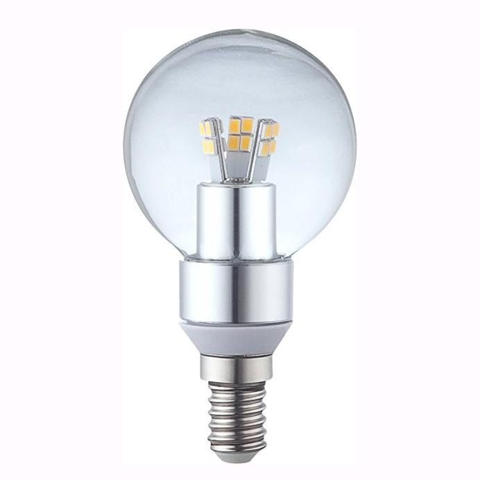 Bec LED E14 ILLU, 4W 3000K 10772 GL , Becuri E14, Corpuri de iluminat, lustre, aplice, veioze, lampadare, plafoniere. Mobilier si decoratiuni, oglinzi, scaune, fotolii. Oferte speciale iluminat interior si exterior. Livram in toata tara.  a