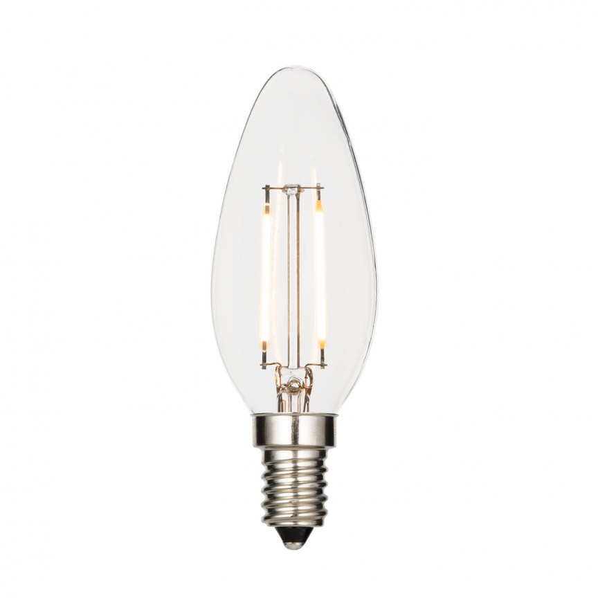 Bec E14 LED 2,4 Watt 61680 EN, Becuri E14, Corpuri de iluminat, lustre, aplice, veioze, lampadare, plafoniere. Mobilier si decoratiuni, oglinzi, scaune, fotolii. Oferte speciale iluminat interior si exterior. Livram in toata tara.  a