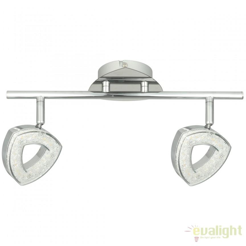 Plafoniera LED / Aplica tavan cu spoturi directionabile Etinger II 704023902 MW, ILUMINAT INTERIOR LED , Corpuri de iluminat, lustre, aplice, veioze, lampadare, plafoniere. Mobilier si decoratiuni, oglinzi, scaune, fotolii. Oferte speciale iluminat interior si exterior. Livram in toata tara.  a