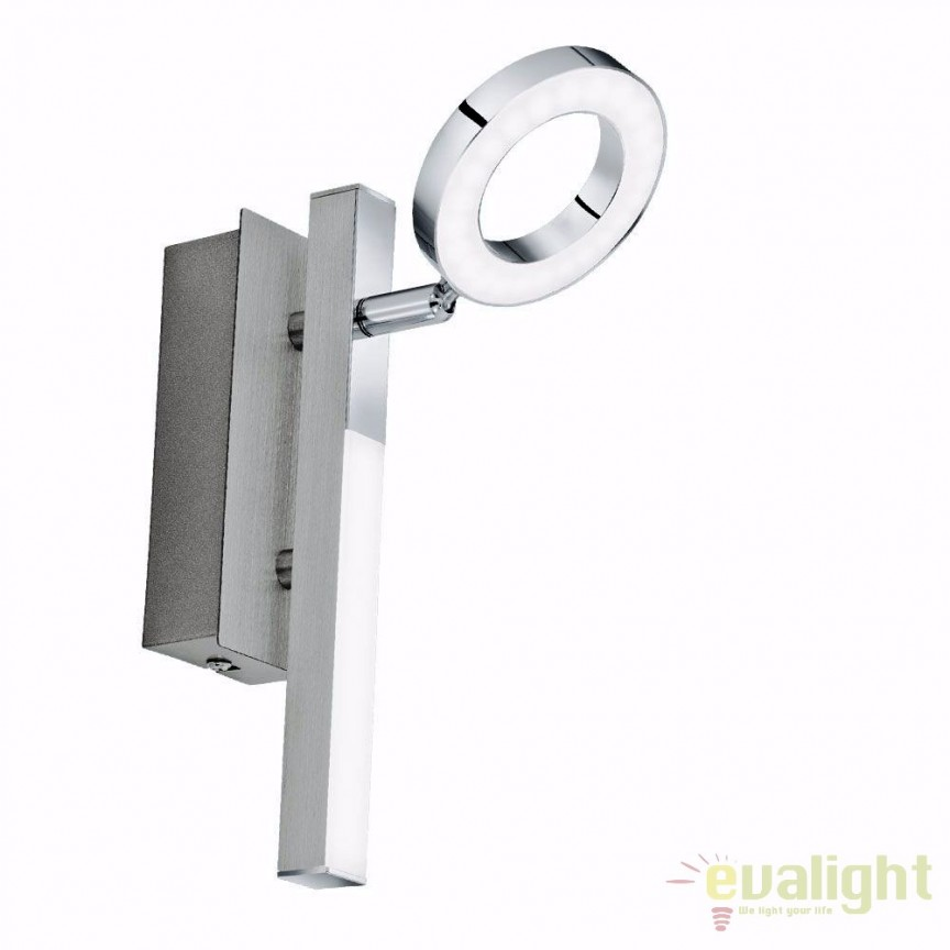 Aplica de perete moderna cu 2 spot-uri LED, CARDILLIO 1 96178 EL, ILUMINAT INTERIOR LED , ⭐ modele moderne de lustre LED cu telecomanda potrivite pentru living, bucatarie, birou, dormitor, baie, camera copii (bebe si tineret), casa scarii, hol. ✅Design de lux premium actual Top 2020! ❤️Promotii lampi LED❗ ➽ www.evalight.ro. Alege oferte la sisteme si corpuri de iluminat cu LED dimabile (becuri cu leduri si module LED integrate cu lumina calda, naturala sau rece), ieftine si de lux. Cumpara la comanda sau din stoc, oferte si reduceri speciale cu vanzare rapida din magazine la cele mai bune preturi. Te aşteptăm sa admiri calitatea superioara a produselor noastre live în showroom-urile noastre din Bucuresti si Timisoara❗ a