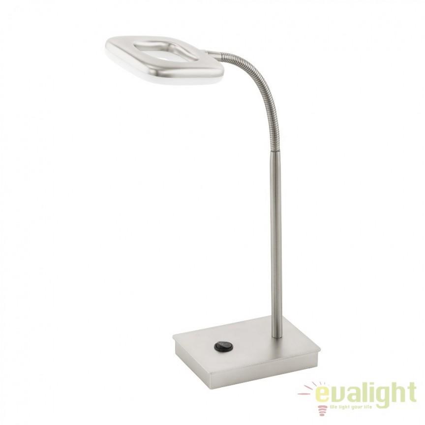 Veioza, Lampa de masa moderna din metal LED, LITAGO 97017 EL, Veioze de Birou moderne, Corpuri de iluminat, lustre, aplice, veioze, lampadare, plafoniere. Mobilier si decoratiuni, oglinzi, scaune, fotolii. Oferte speciale iluminat interior si exterior. Livram in toata tara.  a