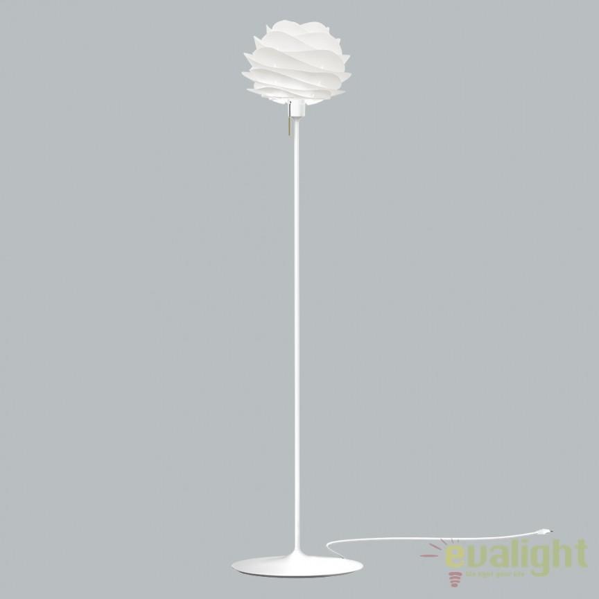 Lampadar modern, design scandinav Carmina Mini, alb 2057+4035- alb VTC, PROMOTII, Corpuri de iluminat, lustre, aplice, veioze, lampadare, plafoniere. Mobilier si decoratiuni, oglinzi, scaune, fotolii. Oferte speciale iluminat interior si exterior. Livram in toata tara.  a