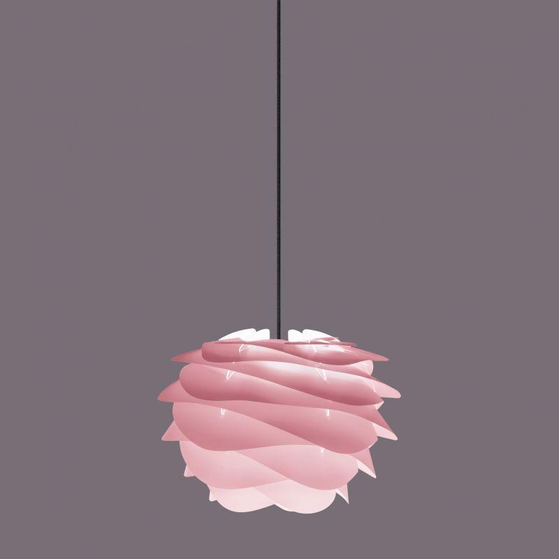 Pendul modern Carmina Mini, roz 2080+4145- negru VTC, Lustre - Iluminat pentru camera Copii, Corpuri de iluminat, lustre, aplice, veioze, lampadare, plafoniere. Mobilier si decoratiuni, oglinzi, scaune, fotolii. Oferte speciale iluminat interior si exterior. Livram in toata tara.  a