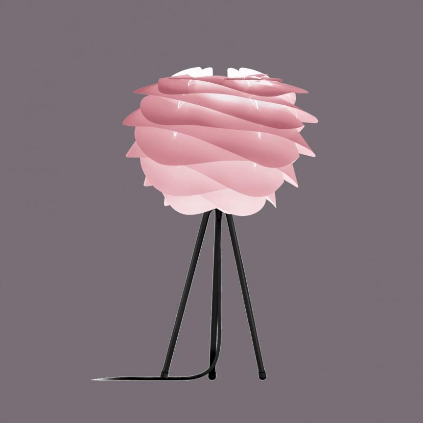 Veioza moderna cu trepied Carmina Mini, roz 2080+4022-negru VTC, Lustre - Iluminat pentru camera Copii, Corpuri de iluminat, lustre, aplice, veioze, lampadare, plafoniere. Mobilier si decoratiuni, oglinzi, scaune, fotolii. Oferte speciale iluminat interior si exterior. Livram in toata tara.  a