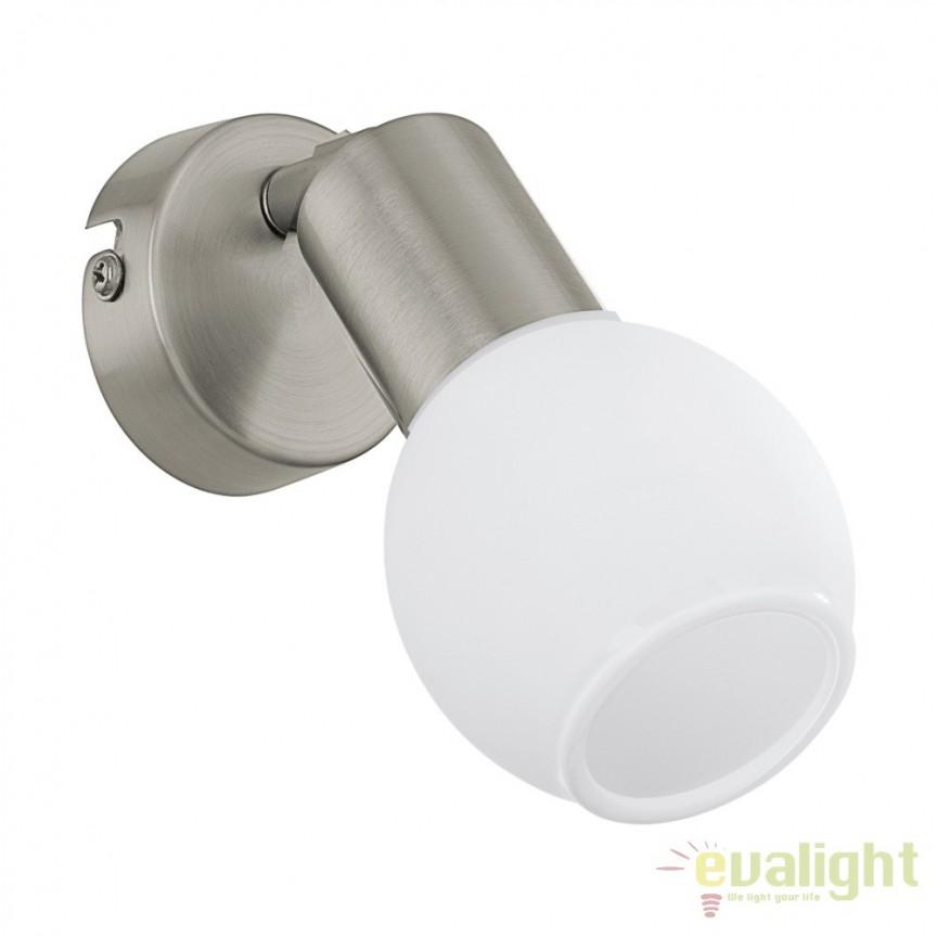 Aplica de perete moderna LED, VEDRA 1 96911 EL, Spoturi - iluminat - cu 1 spot, Corpuri de iluminat, lustre, aplice, veioze, lampadare, plafoniere. Mobilier si decoratiuni, oglinzi, scaune, fotolii. Oferte speciale iluminat interior si exterior. Livram in toata tara.  a
