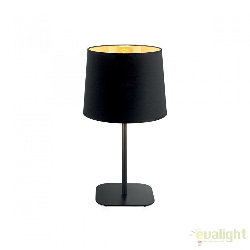 Veioza / Lampa masa design modern NORDIK TL1 161686, Veioze, Lampi de masa, Corpuri de iluminat, lustre, aplice, veioze, lampadare, plafoniere. Mobilier si decoratiuni, oglinzi, scaune, fotolii. Oferte speciale iluminat interior si exterior. Livram in toata tara.  a