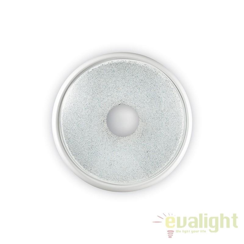Aplica LED / Plafoniera moderna RUBENS AP D27 alba 178776, Plafoniere LED moderne⭐ ieftine si de lux pentru living, dormitor, bucatarie.✅DeSiGn LED dimabil cu telecomanda!❤️Promotii lampi tavan cu LED❗ ➽ www.evalight.ro. Alege oferte la corpuri de iluminat cu LED pt interior de tip lustre aplicate sau incastrate tavan fals si perete (becuri cu leduri si module LED integrate cu lumina calda, naturala sau rece), ieftine de calitate deosebita la cel mai bun pret.  a