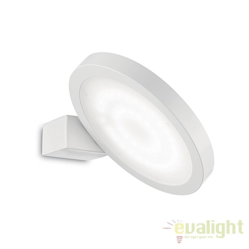 Aplica LED moderna directionabila FLAP AP1 ROUND  155395, Aplice de perete LED, moderne⭐ modele potrivite pentru dormitor,living,baie,hol,bucatarie.✅Design premium actual Top 2020!❤️Promotii lampi❗ ➽ www.evalight.ro. Alege oferte la corpuri de iluminat cu LED pt tavan interior, (becuri cu leduri si module LED integrate cu lumina calda, naturala sau rece), ieftine si de lux, calitate deosebita la cel mai bun pret.  a