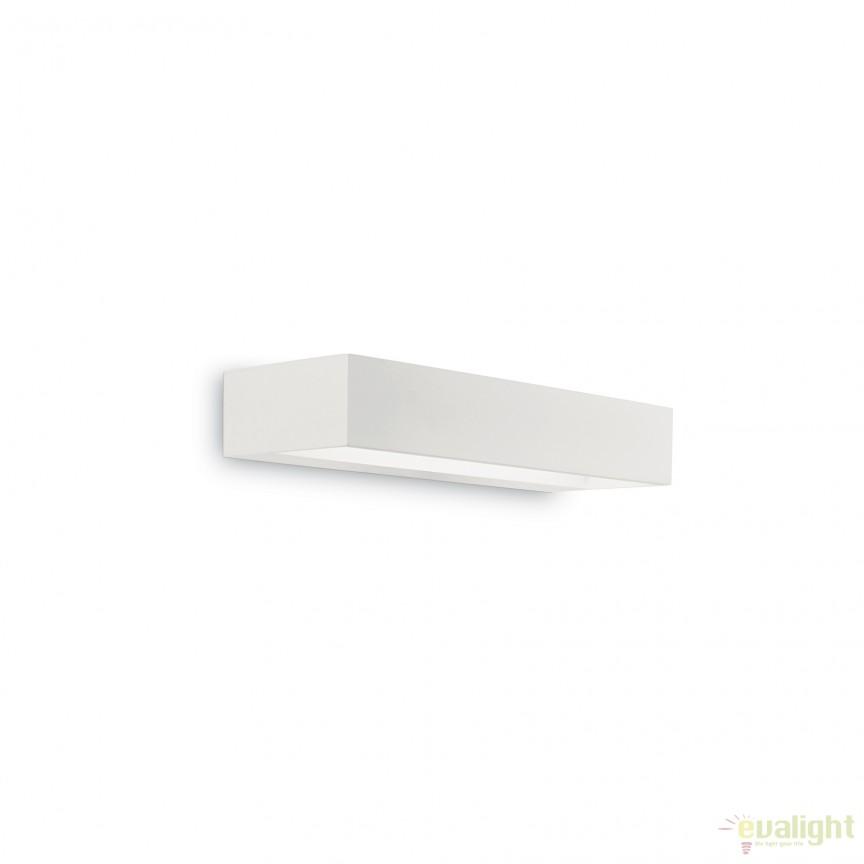 Aplica LED moderna cu lumina ambientala up&down CUBE AP1 SMALL 161785, Aplice de perete LED, Corpuri de iluminat, lustre, aplice, veioze, lampadare, plafoniere. Mobilier si decoratiuni, oglinzi, scaune, fotolii. Oferte speciale iluminat interior si exterior. Livram in toata tara.  a