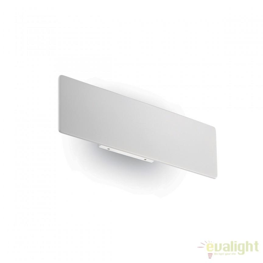 Aplica LED moderna ambientala ZIG ZAG AP12 alba 179292, Aplice de perete LED, moderne⭐ modele potrivite pentru dormitor, living, baie, hol, bucatarie.✅DeSiGn LED decorativ 2021!❤️Promotii lampi❗ ➽ www.evalight.ro. Alege oferte NOI corpuri de iluminat cu LED pt interior, elegante din cristal (becuri cu leduri si module LED integrate cu lumina calda, naturala sau rece), ieftine si de lux, calitate deosebita la cel mai bun pret.  a