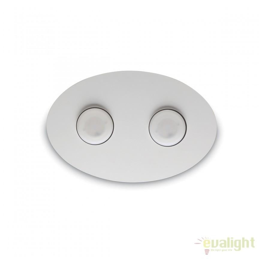 Aplica LED moderna LOGOS AP2 alba 175720, Aplice de perete LED, Corpuri de iluminat, lustre, aplice, veioze, lampadare, plafoniere. Mobilier si decoratiuni, oglinzi, scaune, fotolii. Oferte speciale iluminat interior si exterior. Livram in toata tara.  a