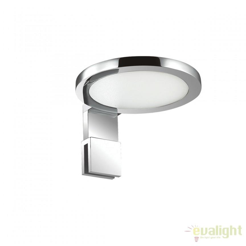 Aplica LED oglinda Baie design modern IP44 TOY AP1 ROUND 156491, Aplice pentru baie, oglinda, tablou, Corpuri de iluminat, lustre, aplice, veioze, lampadare, plafoniere. Mobilier si decoratiuni, oglinzi, scaune, fotolii. Oferte speciale iluminat interior si exterior. Livram in toata tara.  a