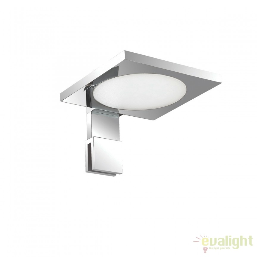 Aplica LED oglinda Baie design modern IP44 TOY AP1 SQUARE 156507, Aplice pentru baie, oglinda, tablou, Corpuri de iluminat, lustre, aplice, veioze, lampadare, plafoniere. Mobilier si decoratiuni, oglinzi, scaune, fotolii. Oferte speciale iluminat interior si exterior. Livram in toata tara.  a