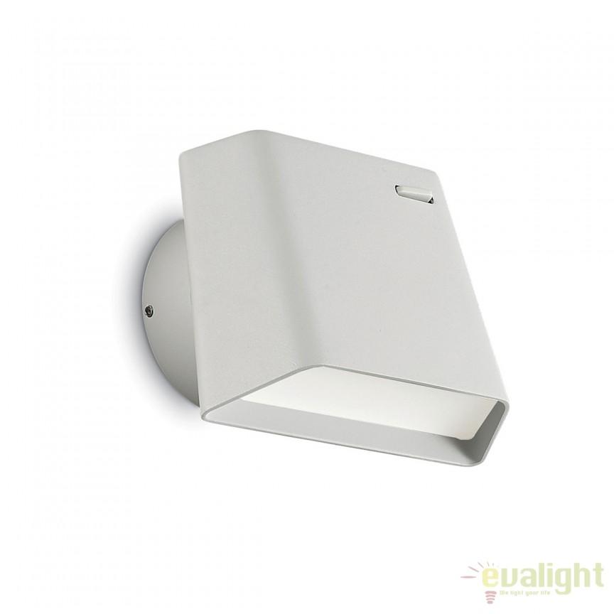 Aplica LED moderna directionabila HELLEN AP1 alba 176628, Aplice de perete LED, Corpuri de iluminat, lustre, aplice, veioze, lampadare, plafoniere. Mobilier si decoratiuni, oglinzi, scaune, fotolii. Oferte speciale iluminat interior si exterior. Livram in toata tara.  a